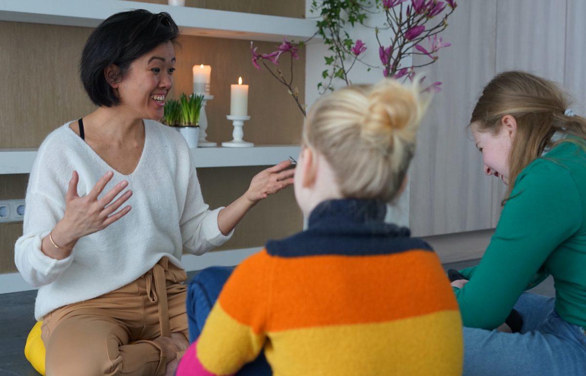 Mindfulness trainingen voor kinderen Marjolein Ngyuen
